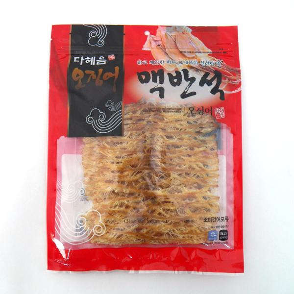 맥반석 오징어 60g, 국내산 강릉, 고소한 맛